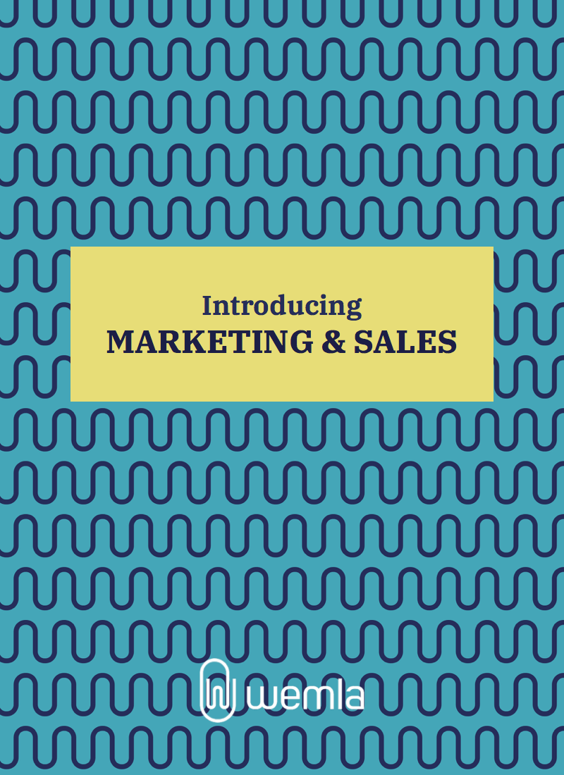 Introducing Marketing & Sales