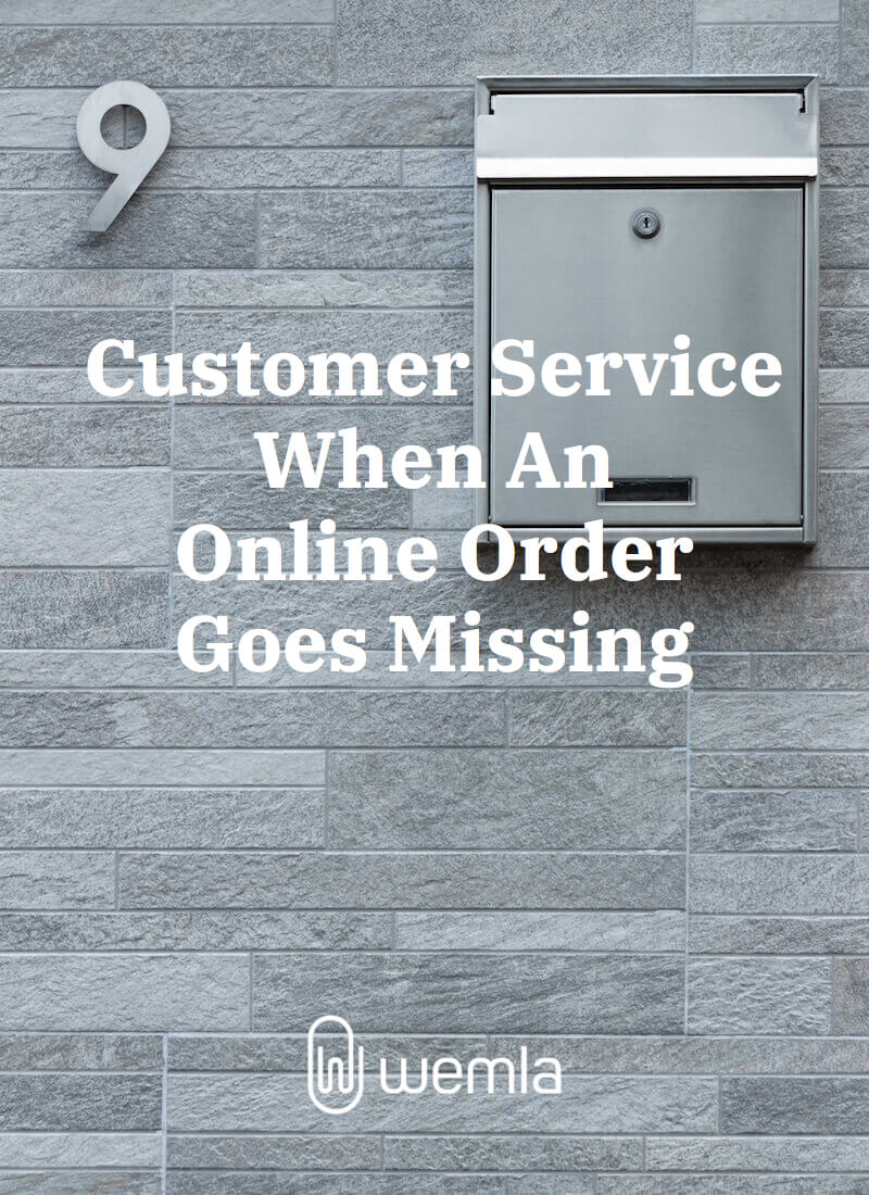 Customer Service When An Online Order Goes Missing