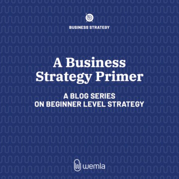 A Business Strategy Primer