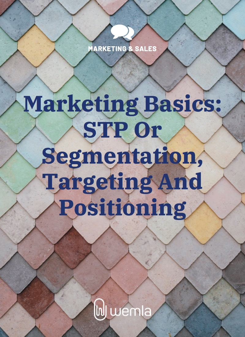 Marketing Basics: STP Or Segmentation, Targeting And Positioning