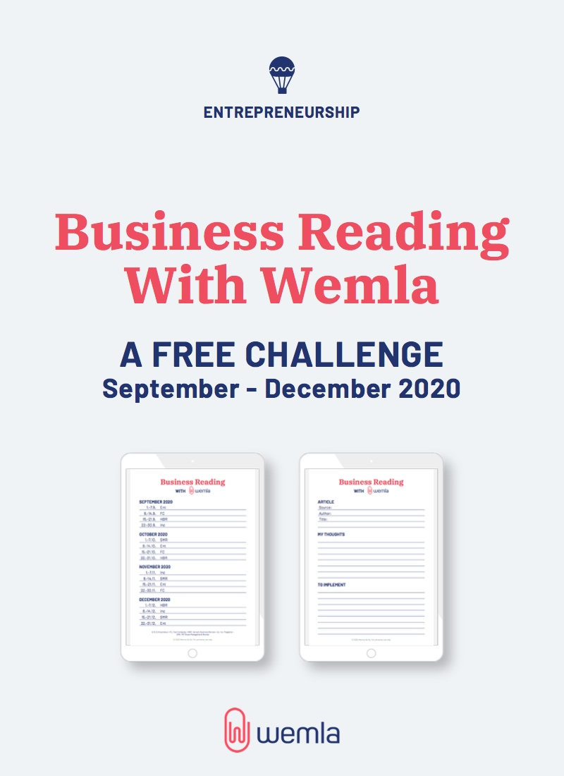 Business Reading With Wemla