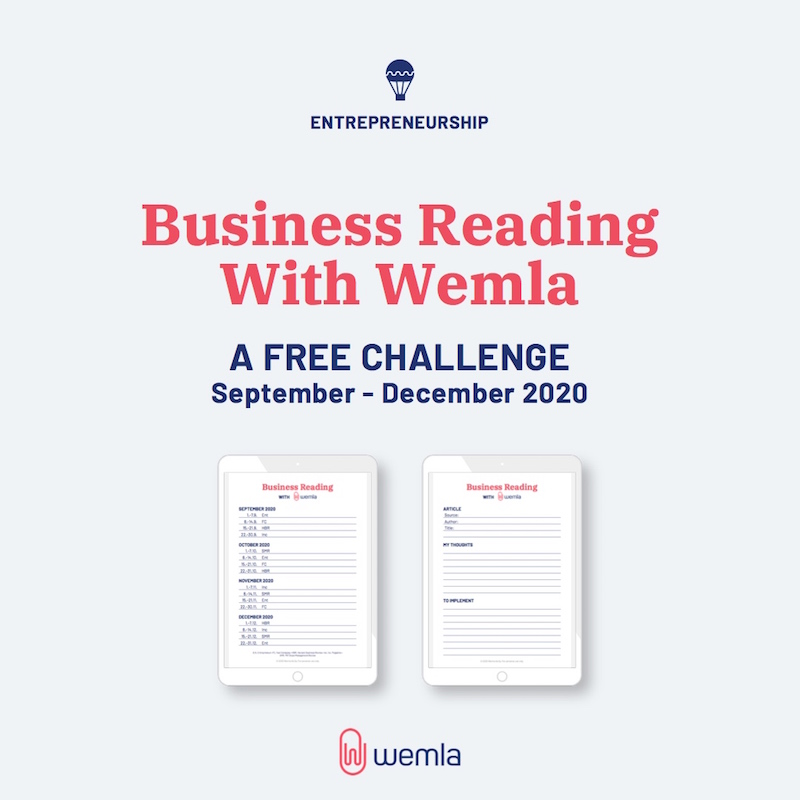 Business Reading challenge